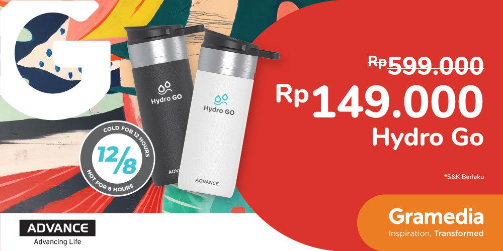 Gambar promo Advance Hydro Go Rp149.000 dari Gramedia